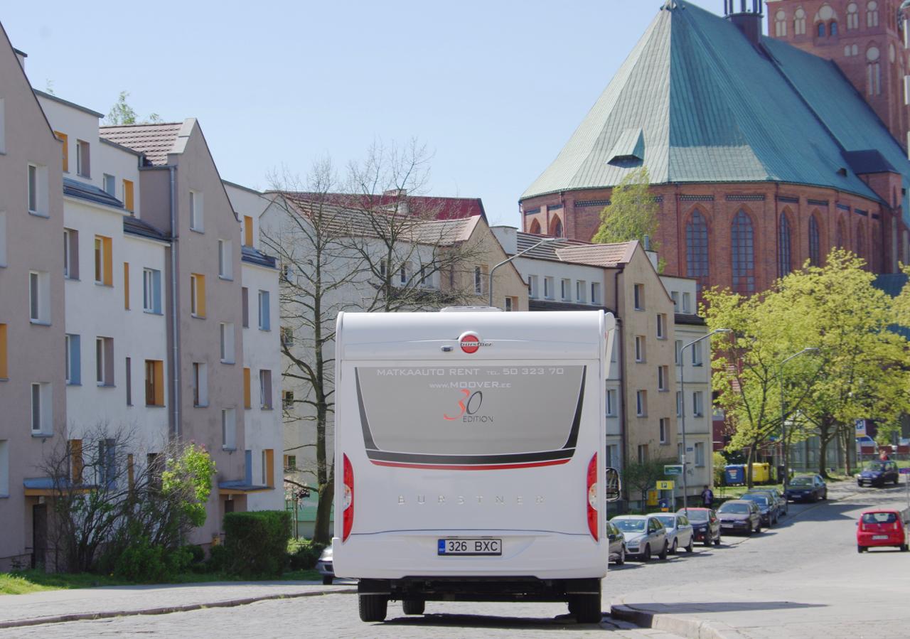 Perereis matkaautoga Euroopasse aprillis 2019