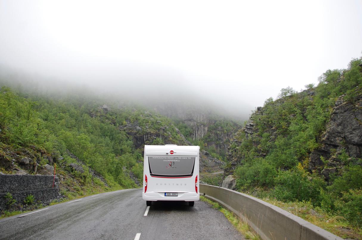 Matkaautoga Nordkappi