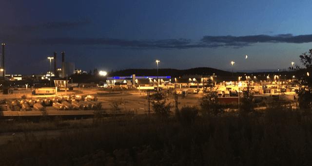 Ööbimiskoht Vuosisaari sadama lähedal