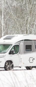 Matkaautoga talvel reisimine