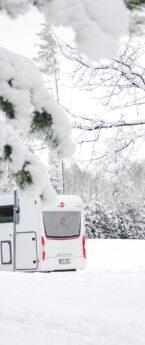 Matkaautoga talvel Lõuna-Eestis