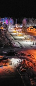 Talvel matkaautoga Lapimaale