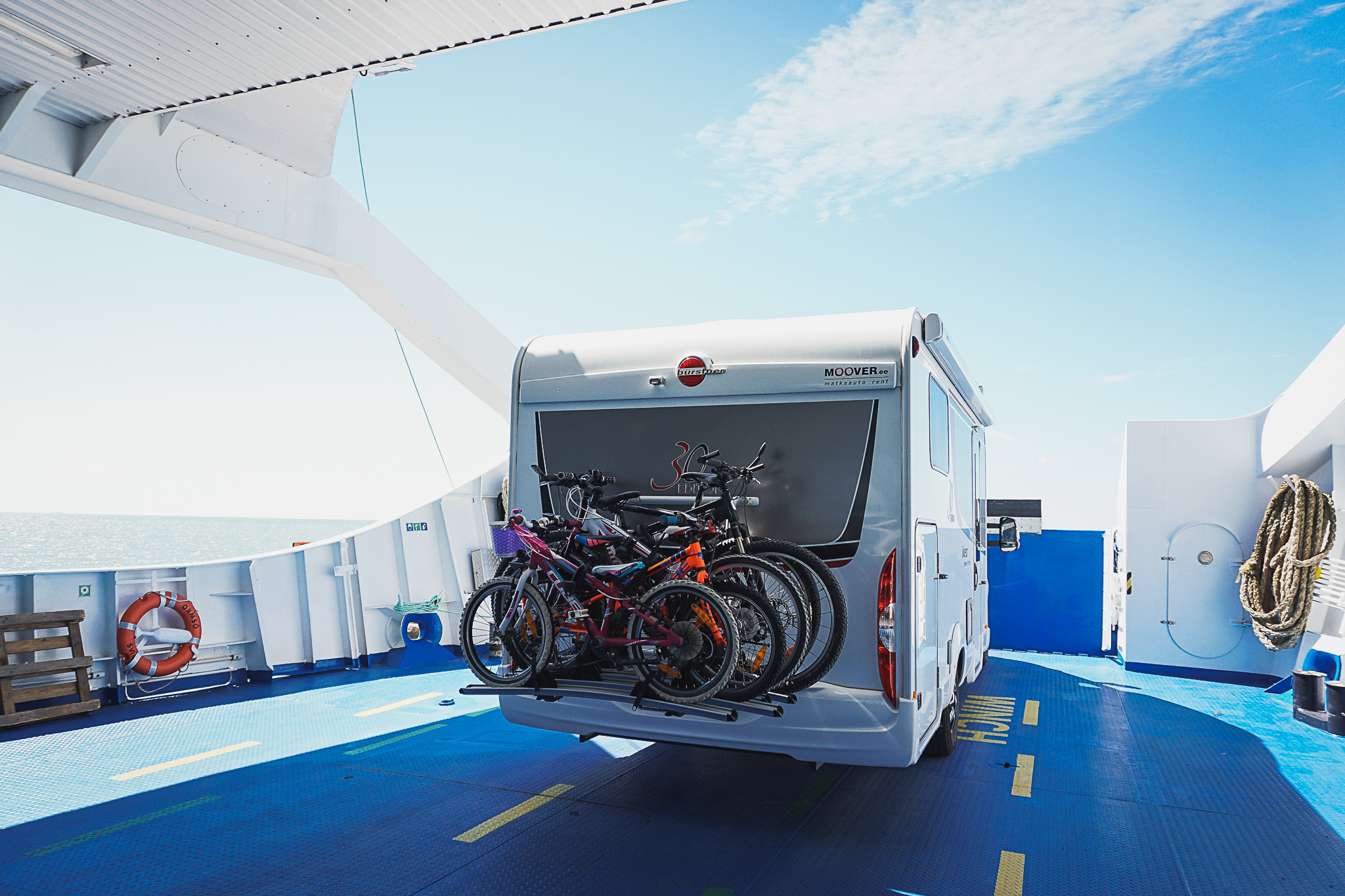 Matkaautoga Vormsi saarel